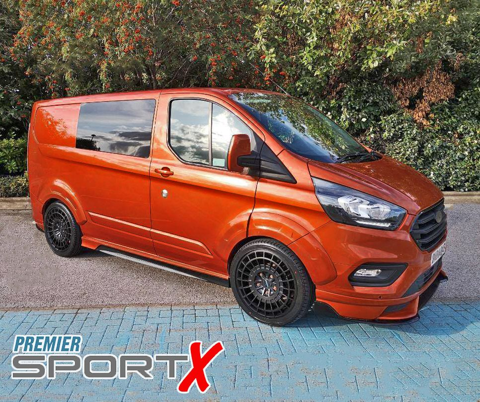 Ford Transit Custom Premier Sport X Double Cab Van Ford Transit Transit Custom Commercial Vehicle