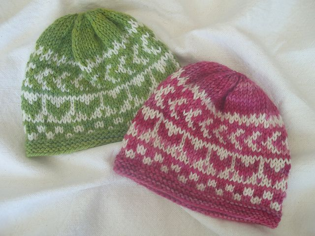 Fair Isle Beanie Knitting Pattern Image collections - knitting ...