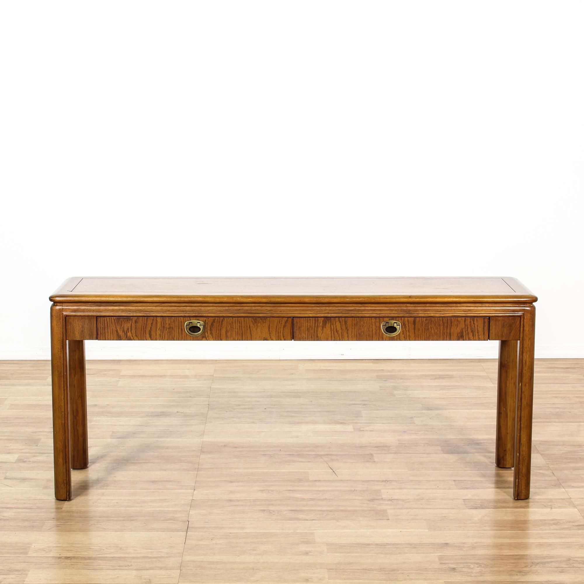 Drexel Sofa Table High Quality Leather Sofas Uk 54822 Heritage Gl Top Oriental