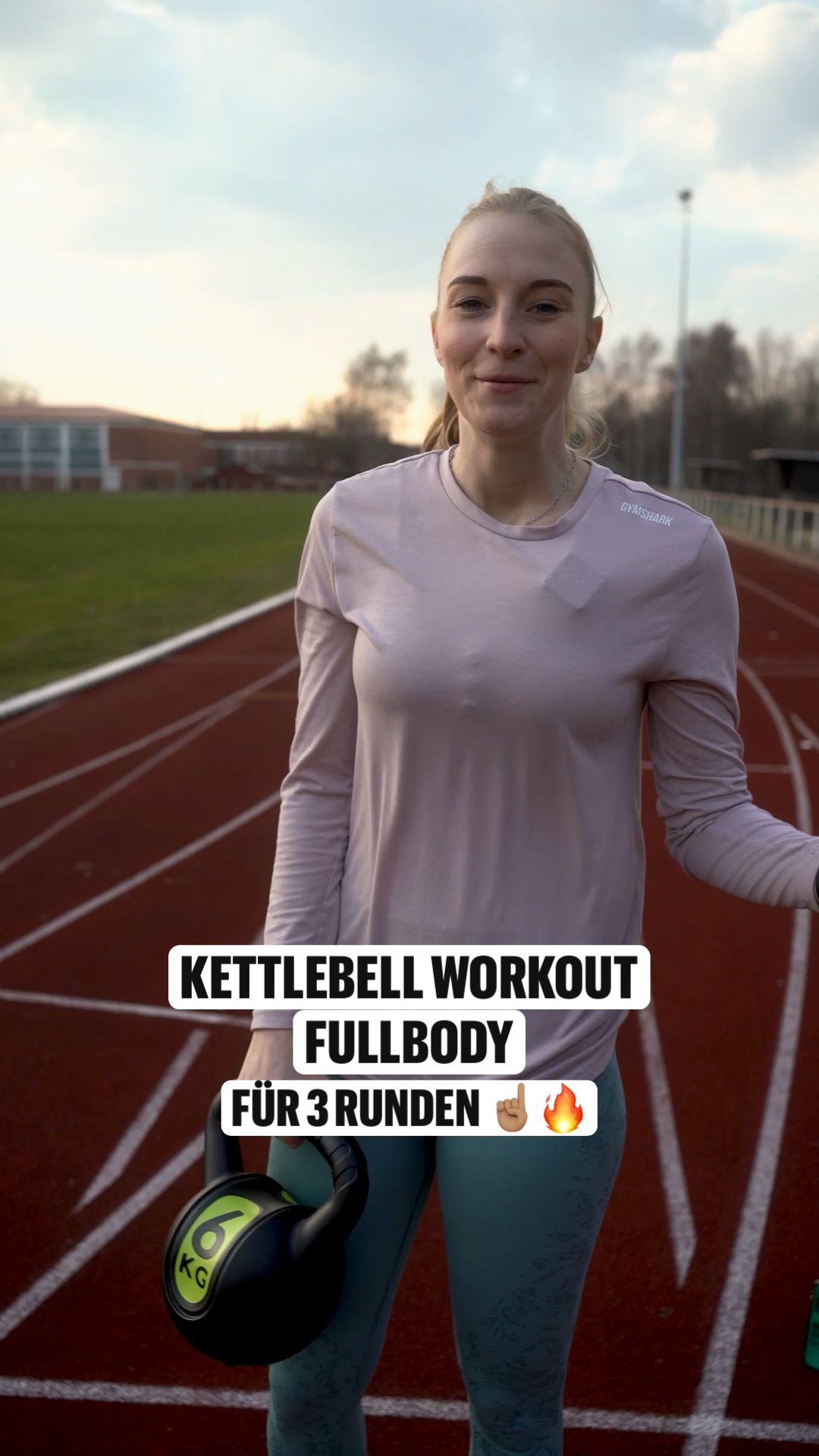 Ganzkörper - Kettlebell Workout 🔥