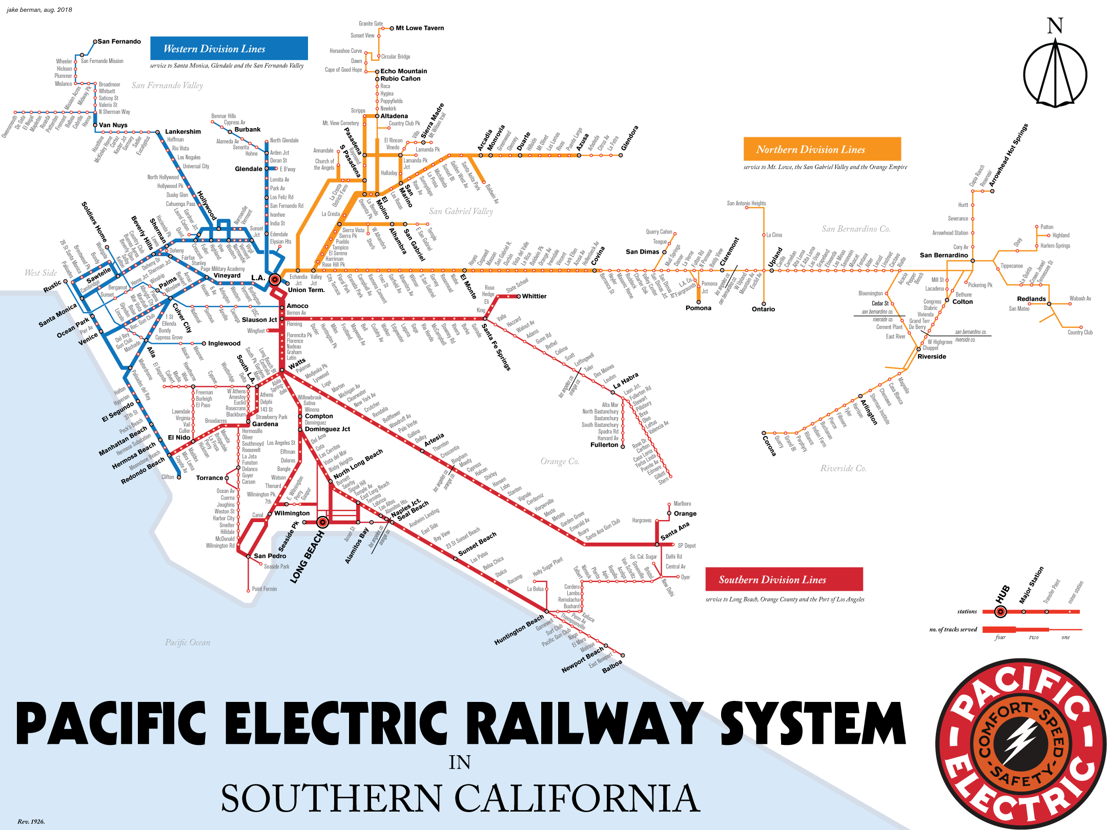 Maps Juxtapose L A Transit In 1926 And What It Could Look Like 102 Years Later Train Map Transit Map Map