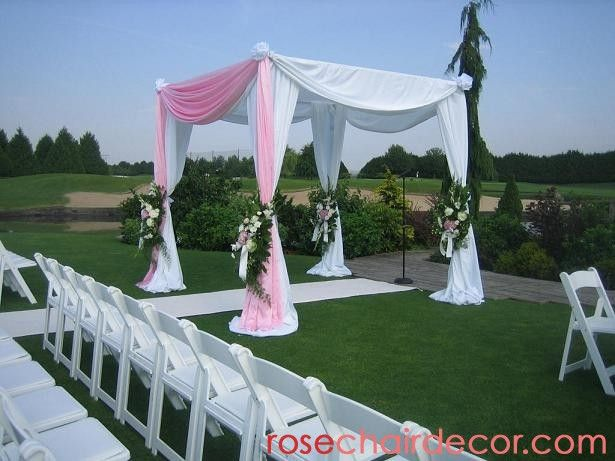 Make Wedding Canopy Out Of Pvc Pipe
