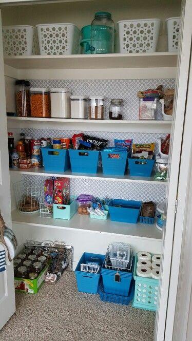 Organization Using Pantry Organizers