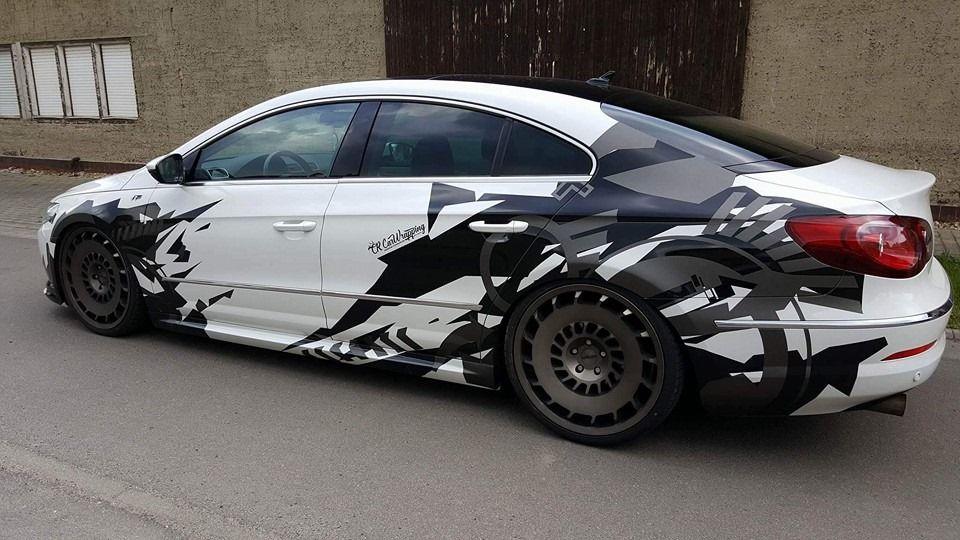 Implemented Our Next Project For Passat Cc Car Wrap Passat Cc Custom Car Decals