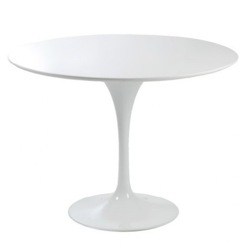 Modern Tulip White Fibreglass 90cm Round Table I Want This For