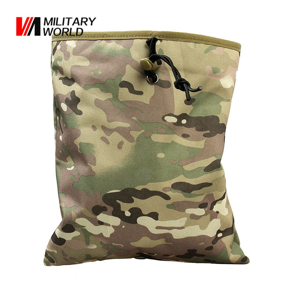 Tactical Magazine Recycling Bag Military Drop Dump Pouch Portable Hunting Bag US