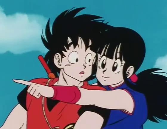 ChiChi Art Manga anime, Dragão boll, Casal anime