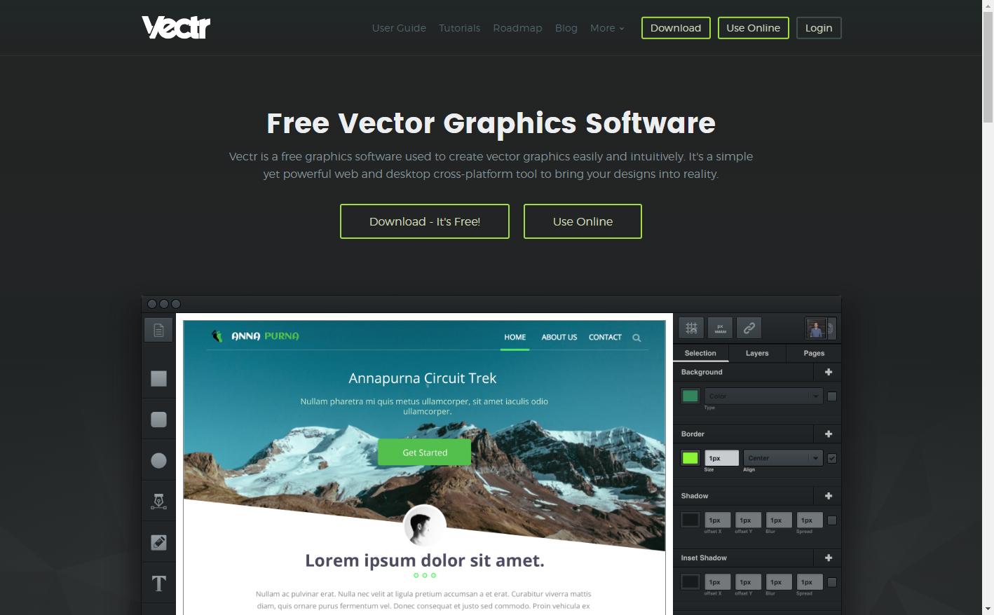 Vectr - Free Online Vector Graphics Editor | data visualization ...