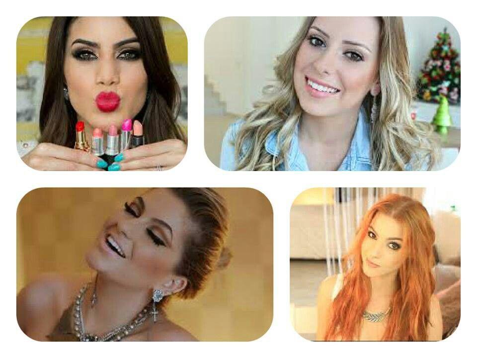 Blogueiras prediletas  Camila Coelho  Alice Salazar  Amanda Domenico  Maddu Magalhães