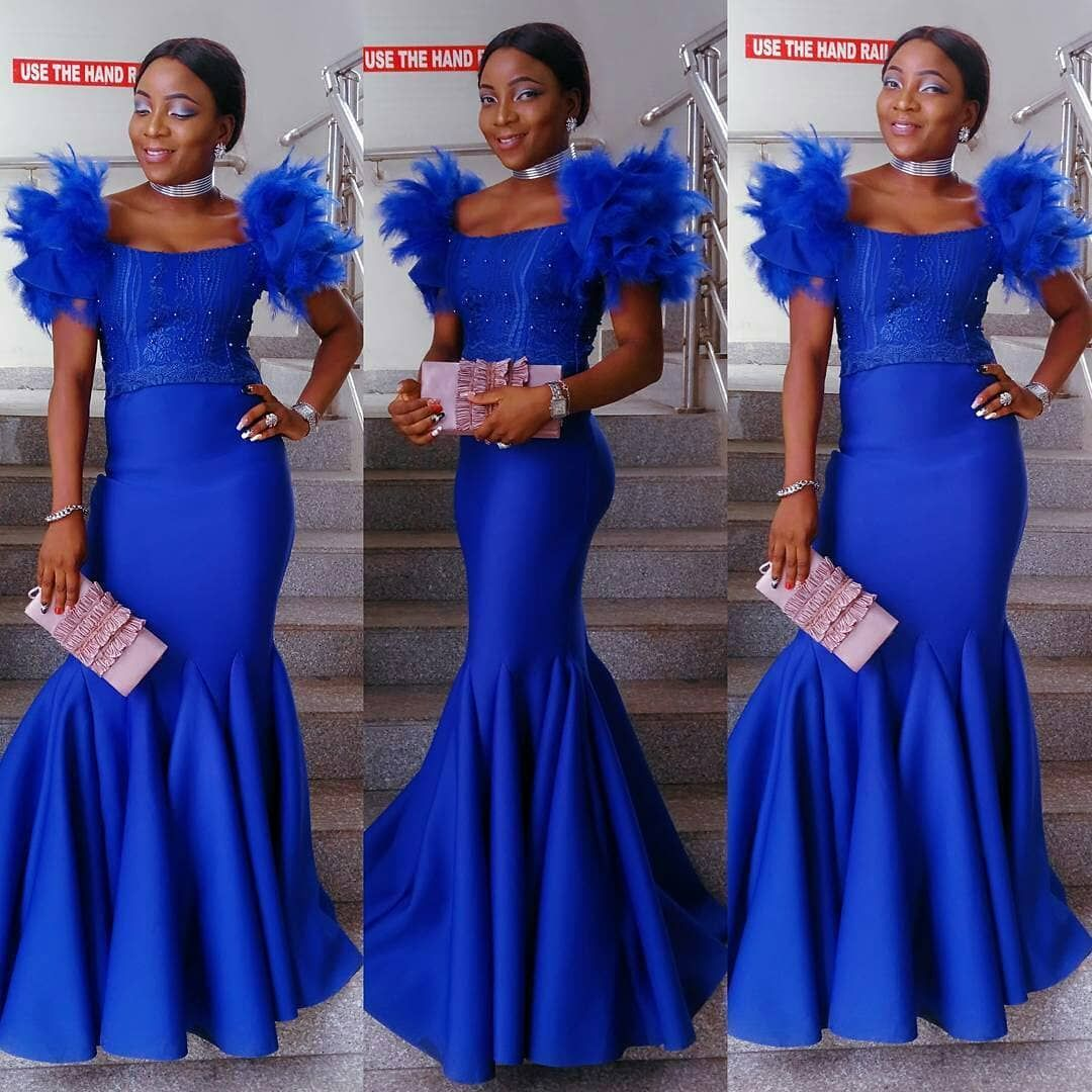 African Evening Dresses : Hot and Trendy Designs for Modern Ladies ...
