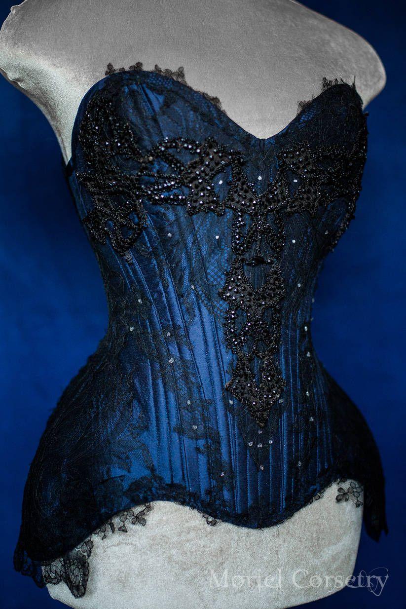 7da465d579e Coven high couture overbust corset luxury haute goth corsets ...