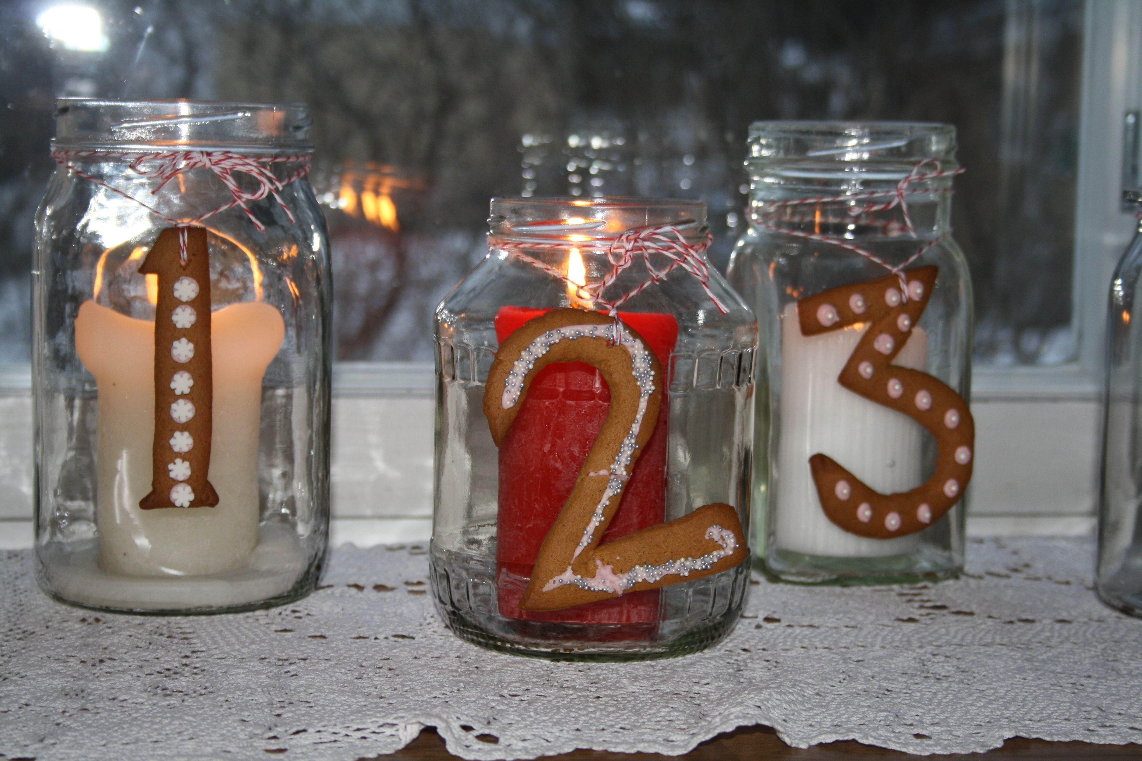 Adventti kynttilät