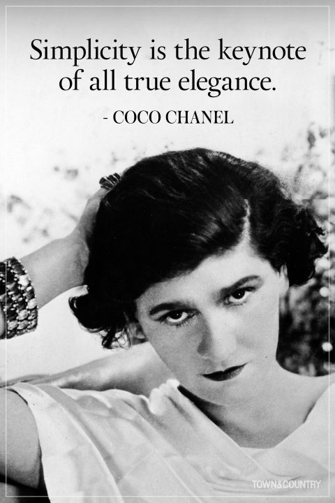 48dffc341b 25 Coco Chanel Quotes Every Woman Should Live By | Inspiration ...