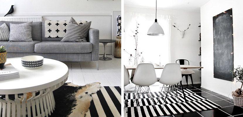 Decorar con la alfombra Stockholm de Ikea | Ikea, Alfombras