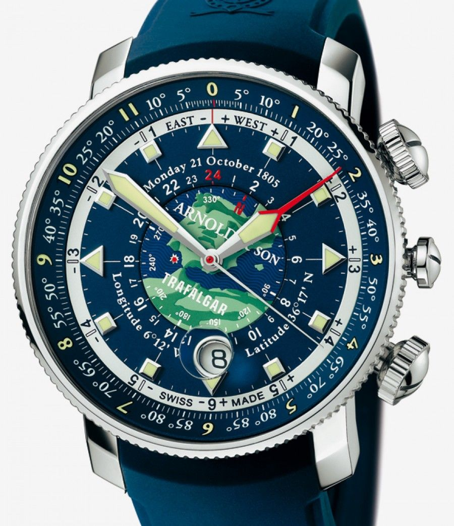 Arnold & Son | Longitude II Trafalgar | Edelstahl | Uhren-Datenbank watchtime.net