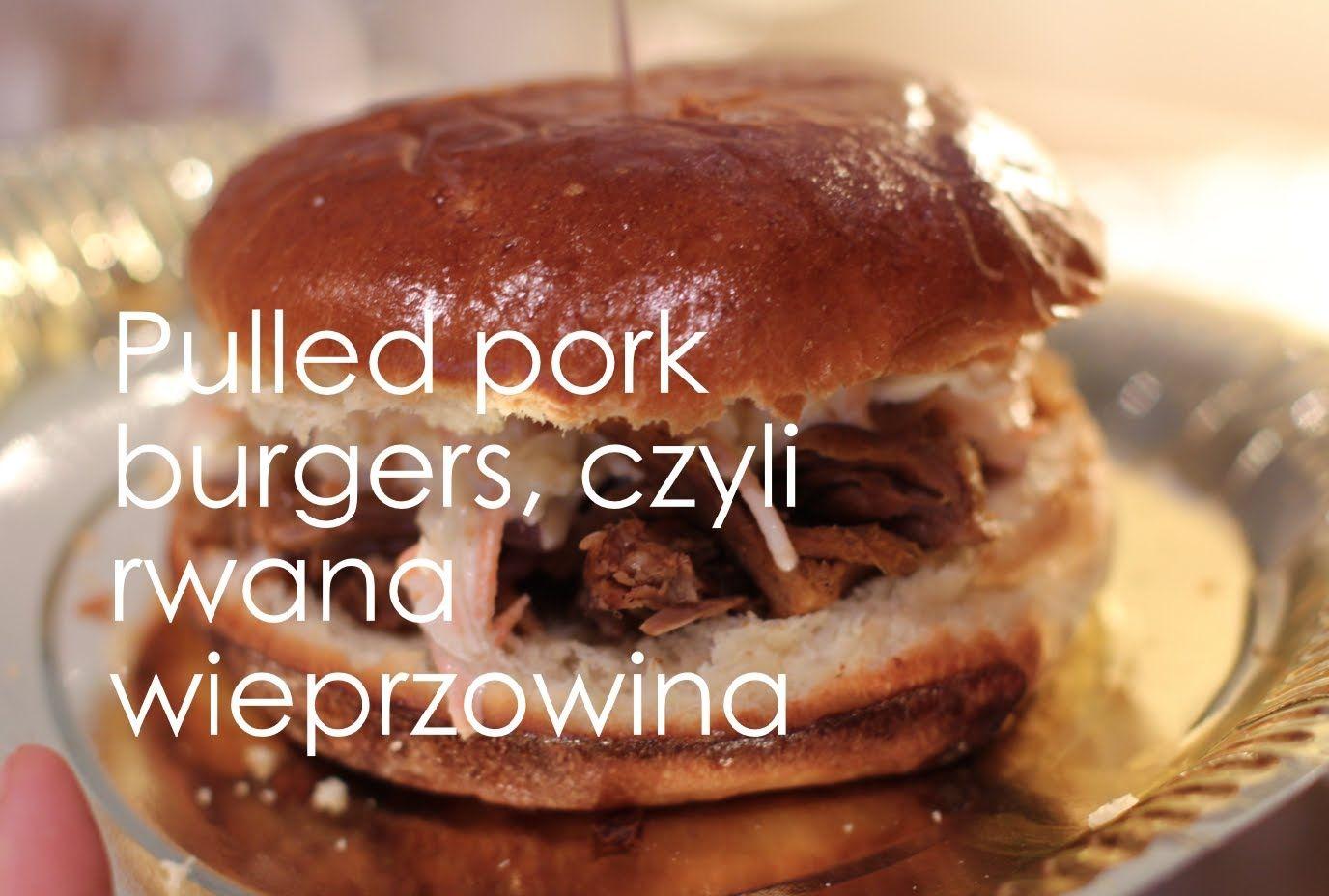 Pulled pork, czyli rwana wieprzowina i coleslaw