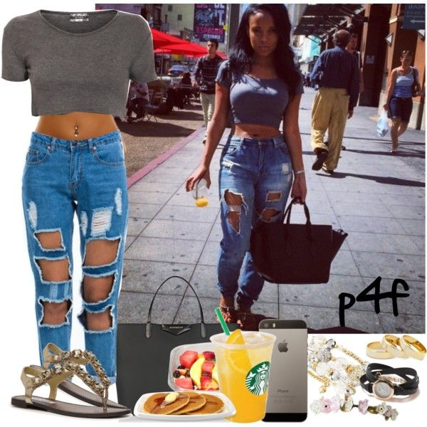 Passion 4Fashion: City Life by shygurl1 on Polyvore featuring polyvore fashion style Steve Madden Givenchy Greenbeads La Mer Sole Society
