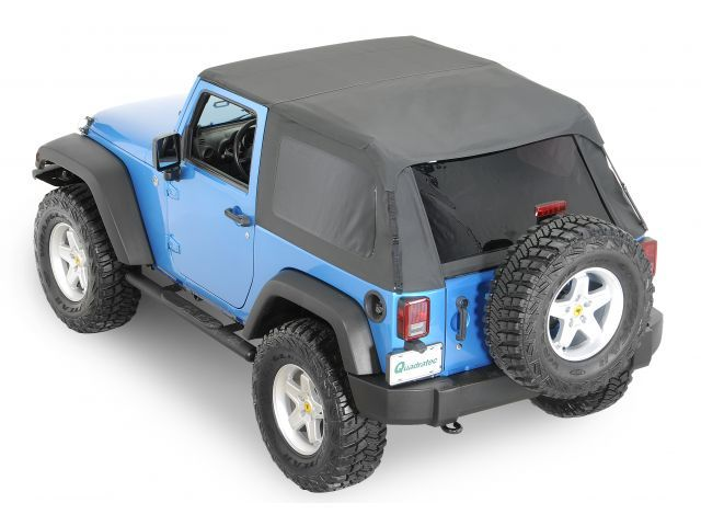 Rampage Products Complete Trail Top Frameless Soft Top | Jeep Parts