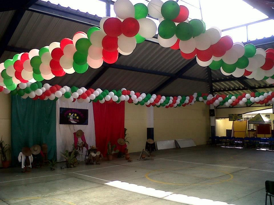Decoraci n para fiesta mexicana globos pinterest for Decoracion kermes mexicana
