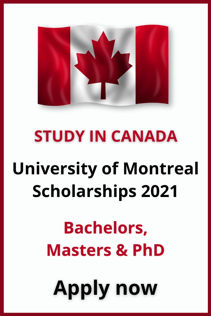 Study In Canada Scholarships International Scholarships University