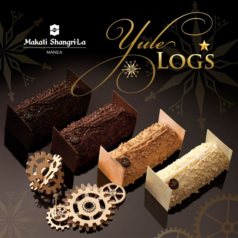 Fluffy and moist Yule Logs with flavors such as Vanilla Dream, Lemon Espresso, Chocolate Tonka and Berry Fusion.