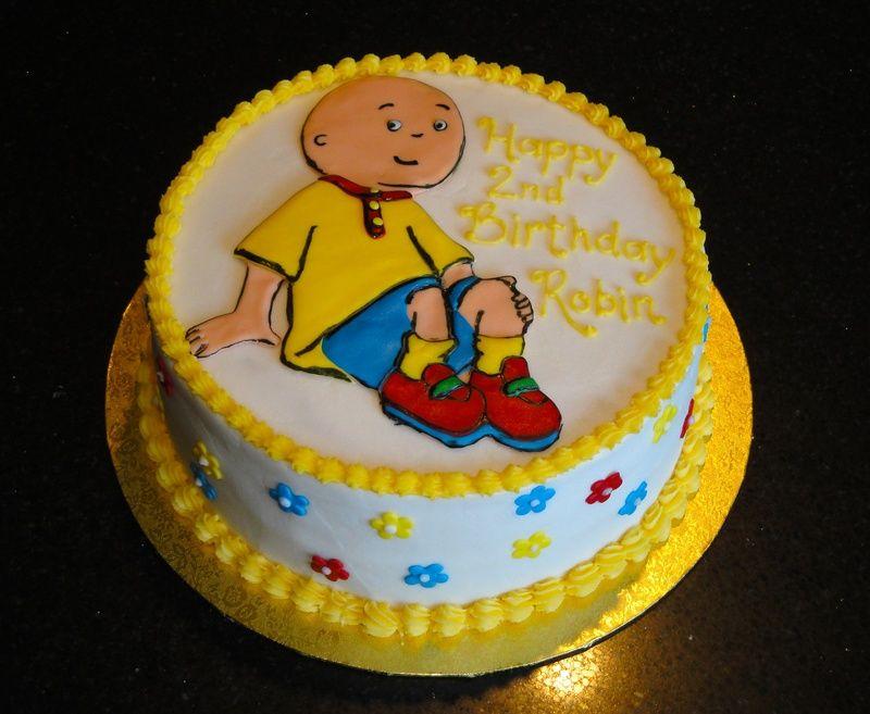 caillou cake Patricks 2nd birthday Pinterest