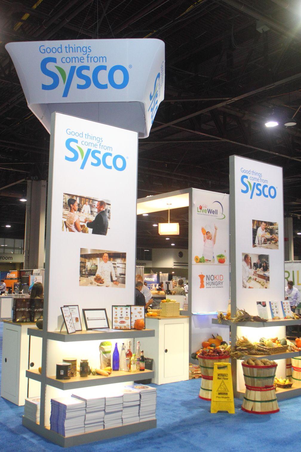Sysco Booth At The 2013 Atlanta Foodservice Expo At The Georgia