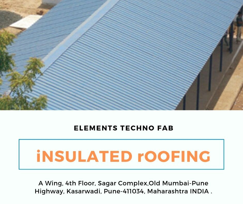 Insulated Roofing Manufacturer Panels Made By Us In The Market Are Known As One Of The Best The Roofs Of The Factory Are Used Roofing Insulated Roof Panels