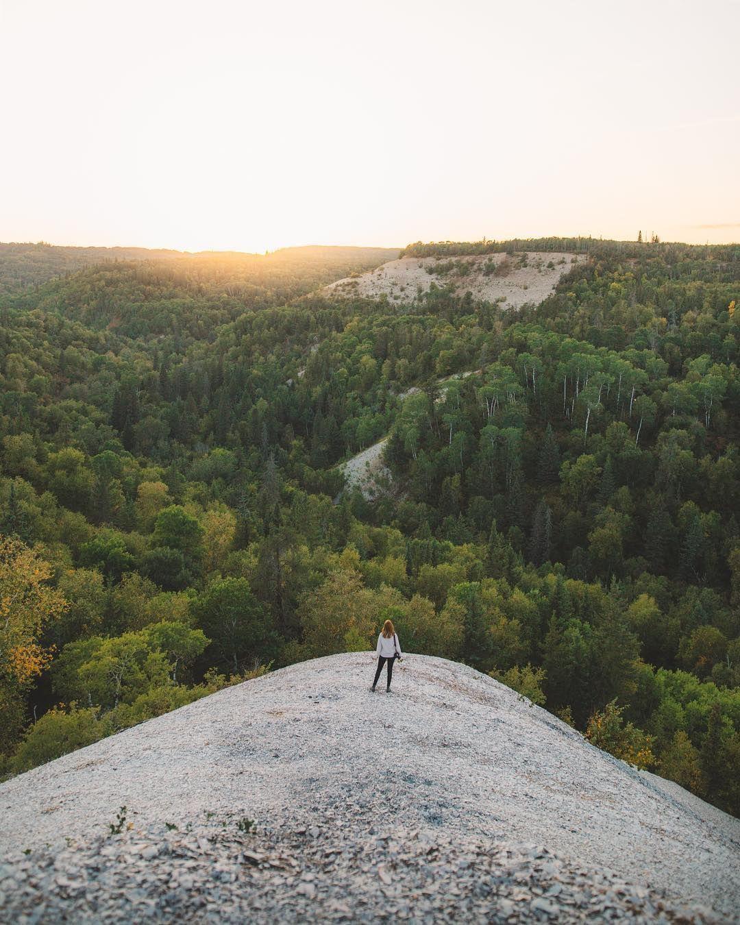 Sunset At Bald Hill Riding Mountain National Park Manitoba