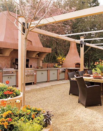 Adventurous Style In Calistoga Ca Wine Country Inspiration Patio Kitchen Kitchen Outdoor Rooms