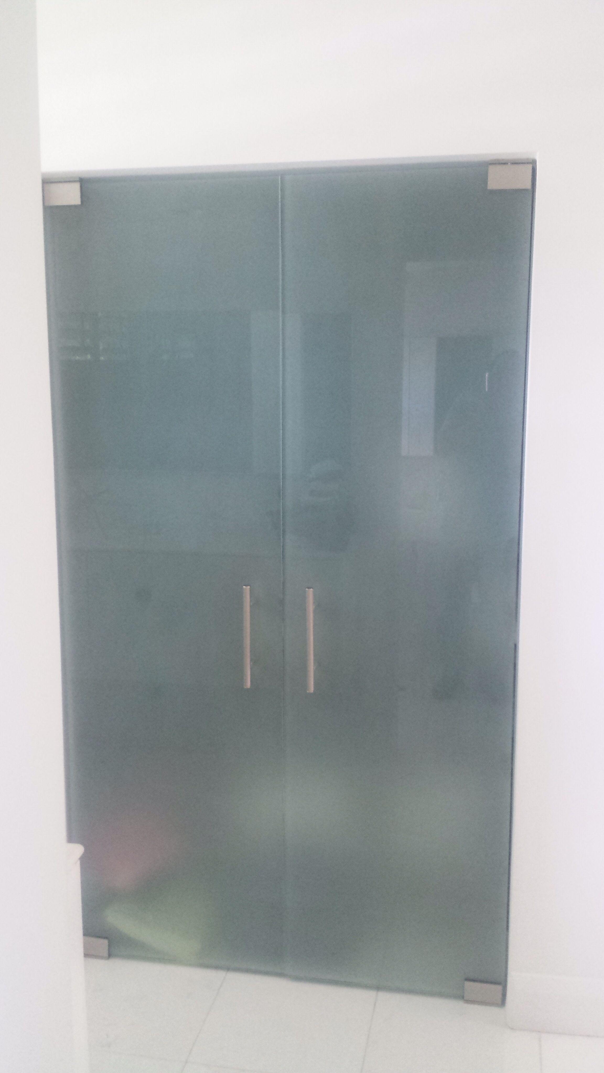 Glass Closet Door Frosted Custom Made Glass Doors Pinterest