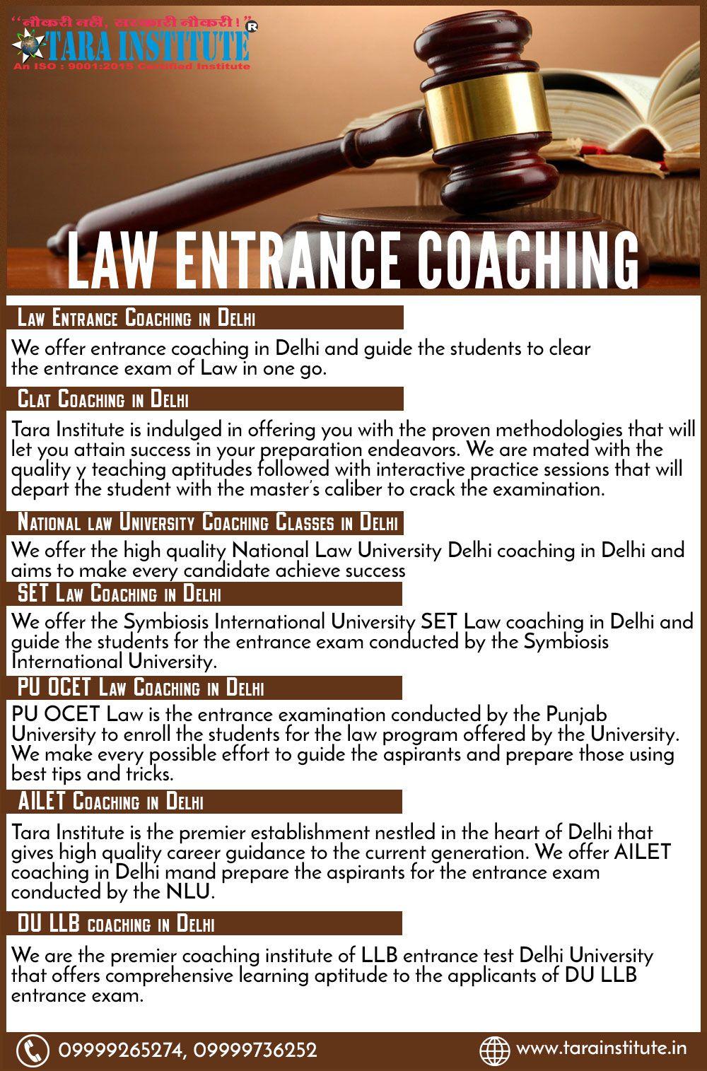Law Entrance Coaching In Delhi Best Law Entrance Coaching Classes