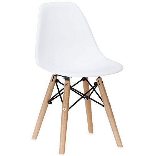 Amazon Com 2xhome Set Of Two 2 White Eames Chair For Kids Size Eames Side Chairs Eames Chairs Wh Side Chairs Dining Eames Side Chair White Eames Chair