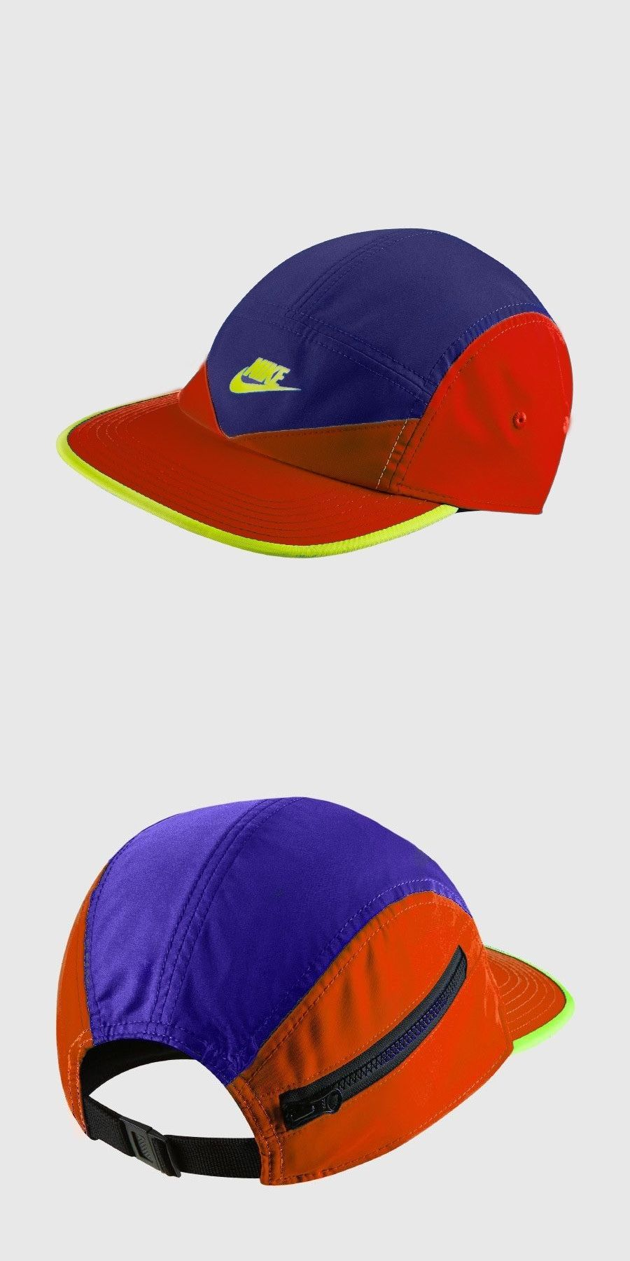 3f1a14ed98f Hats 45230  Nike Zip Aw84 Adjustable Dri-Fit Running Hat Multi-Color Brand  New With Tags -  BUY IT NOW ONLY   35.95 on eBay!
