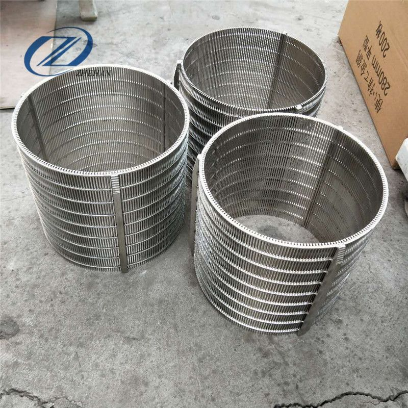 Product Stainless Steel Wedge Wire Screen Material Stainless Steel 304 304l 316 316l Or As Your Need Length Width Customized On Demand Minimum Slot Size