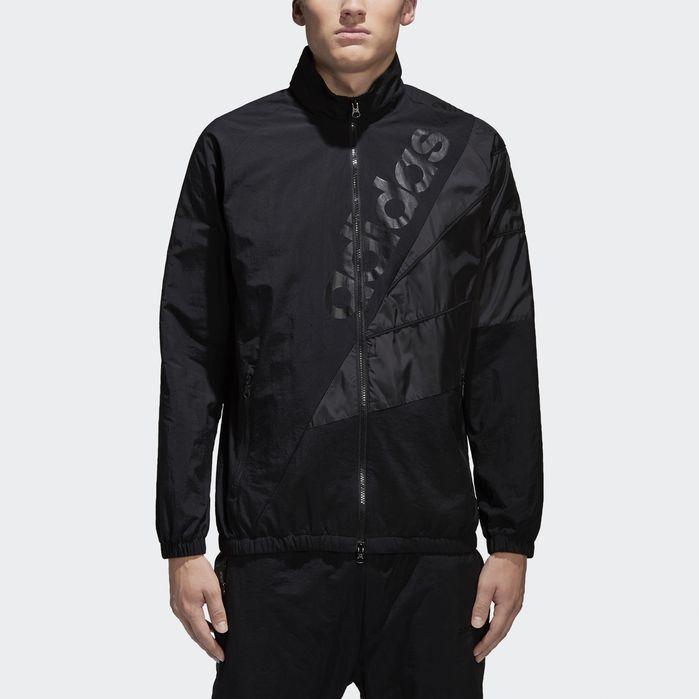 dd1d0c75 Tribe Windbreaker Track Jacket Black XL Mens | Products | Jackets ...