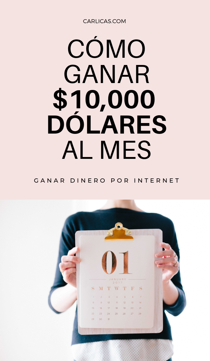 Cómo Ganar 10 000 Dólares Al Mes Por Internet Dinerorápido Ganardinero Ganardineroporinternet Ganar Dinero Por Internet Dinero Por Internet Ganar Dinero