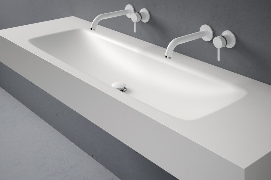 Perfekt D5 Corian® Waschtisch