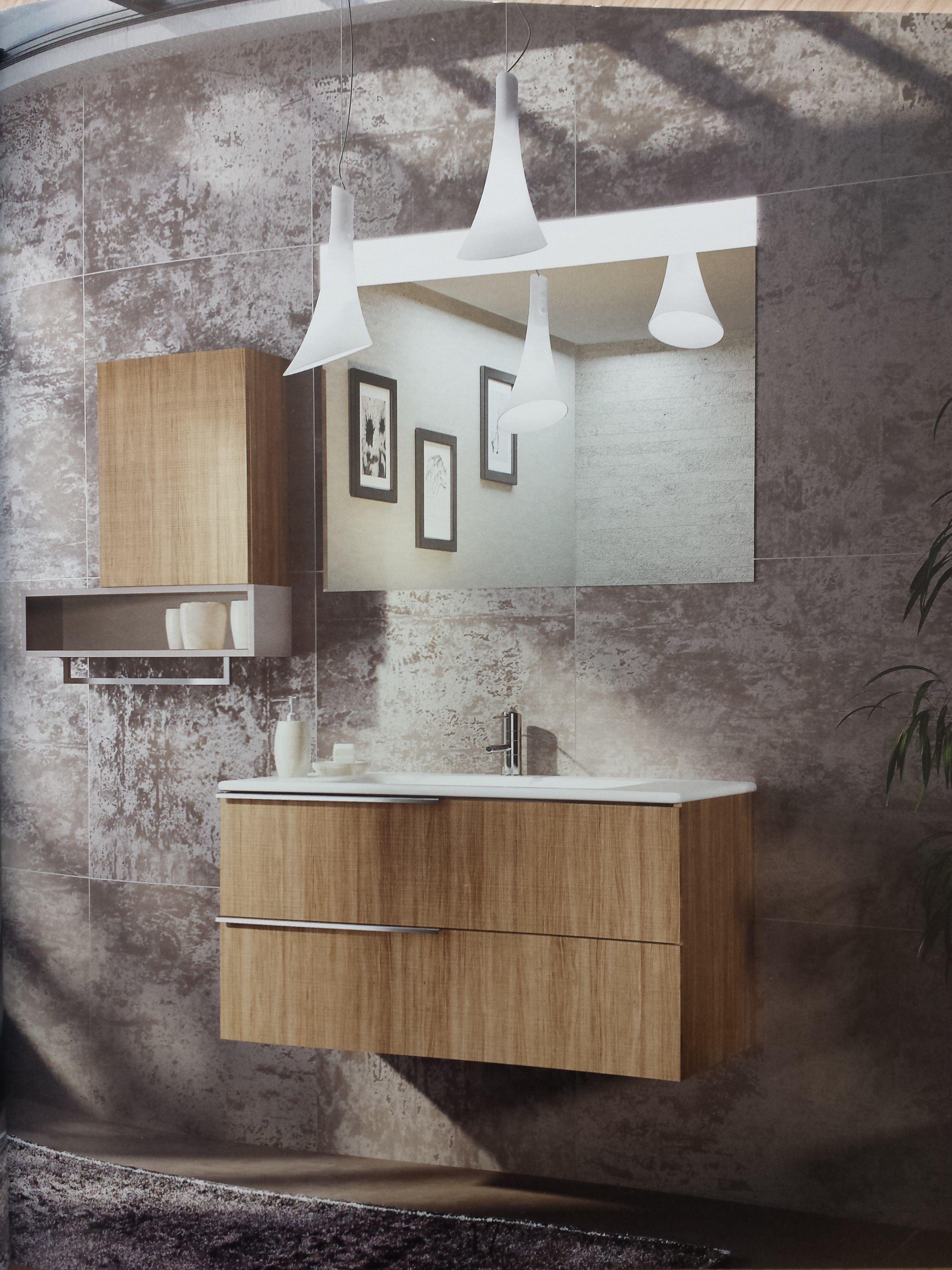 Troverete esposta la nuova collezione materia di for Arredo bagno bari