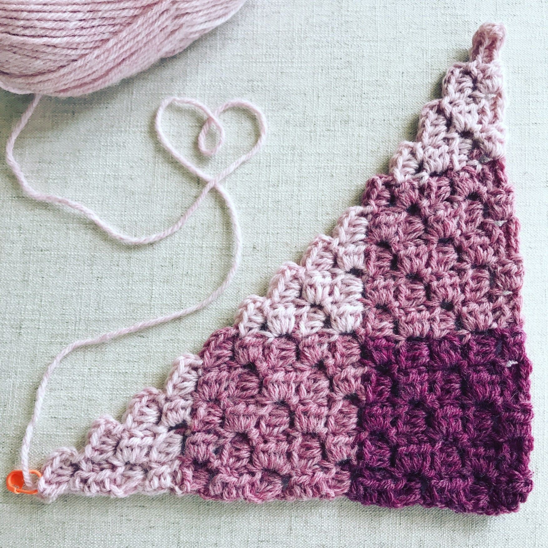 Get a free pattern for a Gingham Hdc Corner to Corner (C2C) blanket ...