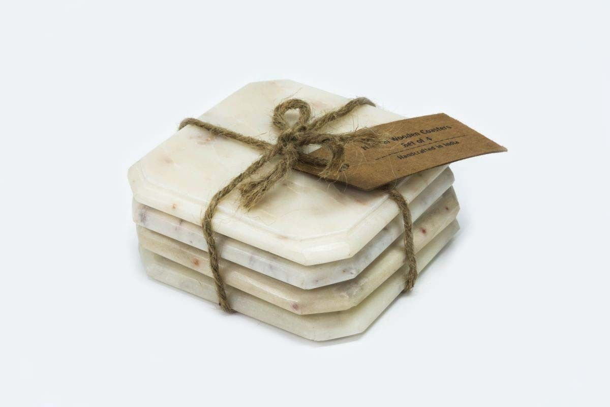 Snipped Square Marble Coaster | Drink Coasters | Pinterest | Marble ...