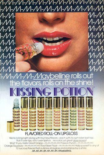 80s Home 80s Fashion Lip Gloss Pucker Up Buttercup Lip