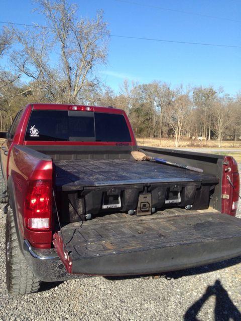 Decked Storage Drawer System In A Ram 2500 Dodge Power Wagon Truck