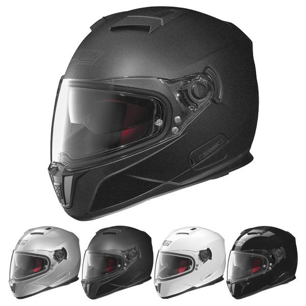 nolan n86 solid n com ready helmet nolan helmets. Black Bedroom Furniture Sets. Home Design Ideas