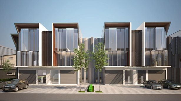 Industrial Park @ Meru   Tan'ck Architect   Archinect is part of Townhouse designs - Industrial Park @ Meru by Tan'ck Architect