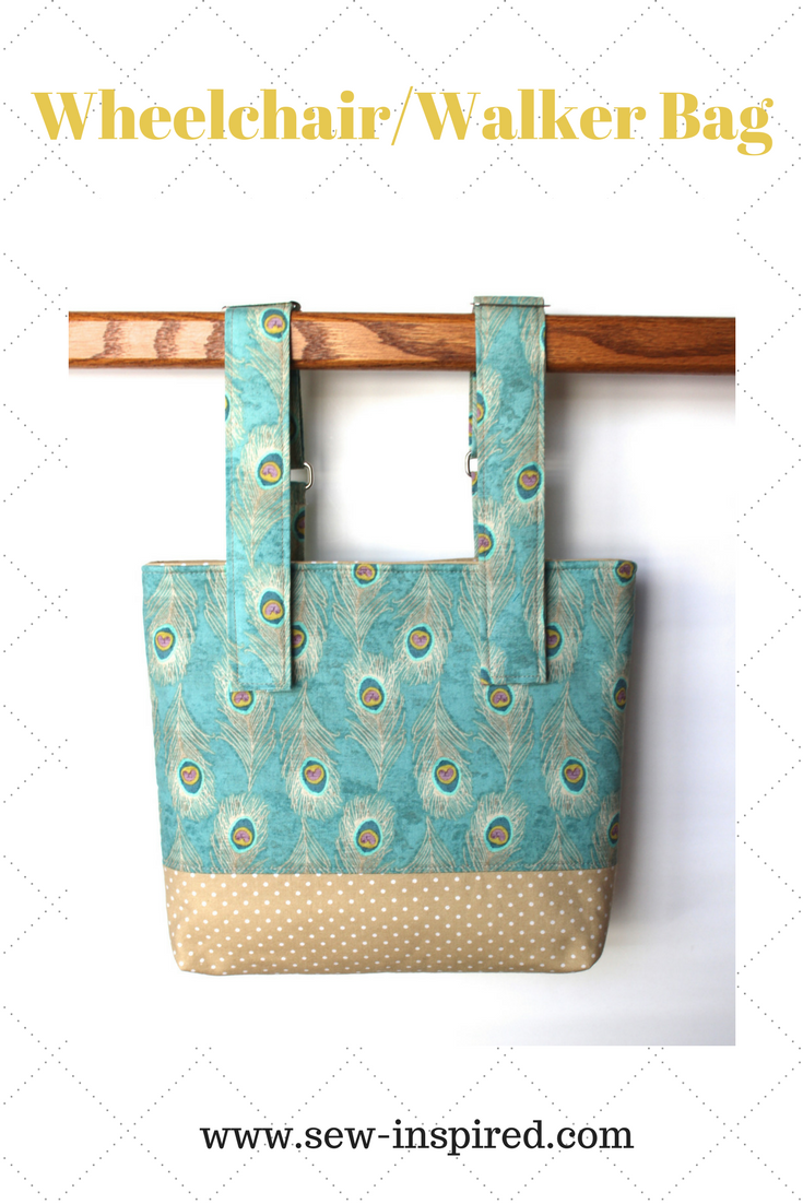 Our wheelchair tote bags feature fully adjustable straps that detach ...