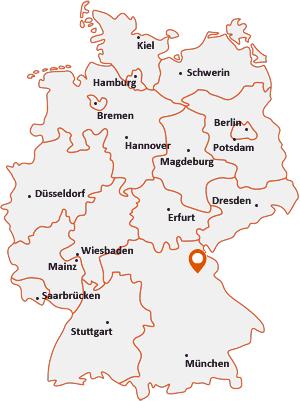 deutschlandkarte heidelberg Postleitzahl Grafenwöhr • Postleitzahlen Grafenwöhr | Karte