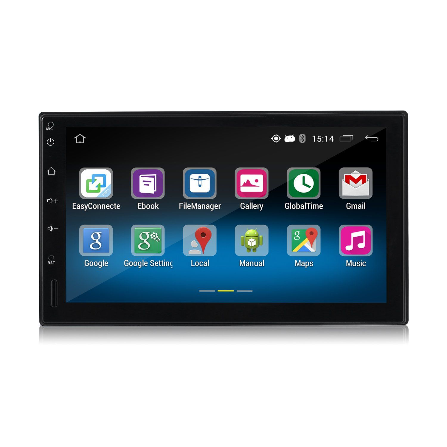 Android Car Player,LESHP Double 2DIN Android 5.1 Car Radio