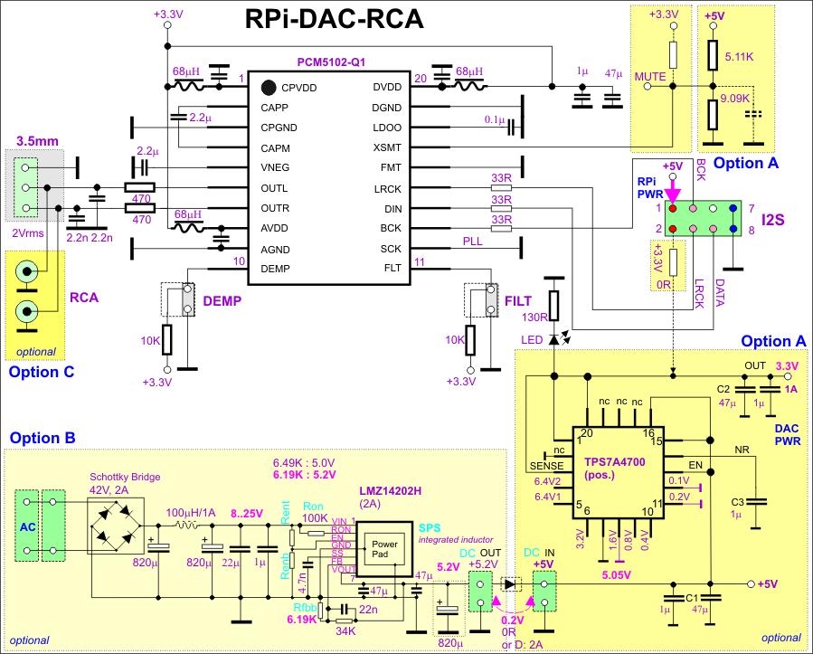 RPi-DAC-RCA SCHEMATICS; raspberry | Малина on synthesizer schematics, antique radio schematics, zenith schematics, 4cx1500b amplifier schematics, whirlpool schematics, tube audio amplifier schematics, otl amplifier schematics, yamaha schematics, usb schematics, kitchenaid schematics, radio shack schematics, magnavox schematics, bose schematics,
