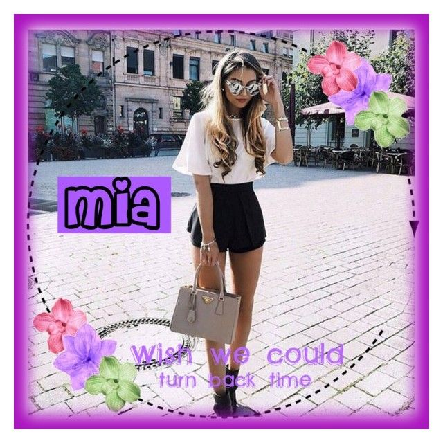 """Mia💜"" by guillerminacas ❤ liked on Polyvore featuring art"